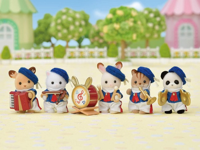 Sylvanian Families Calico Critters Baby Celebration Marching Band
