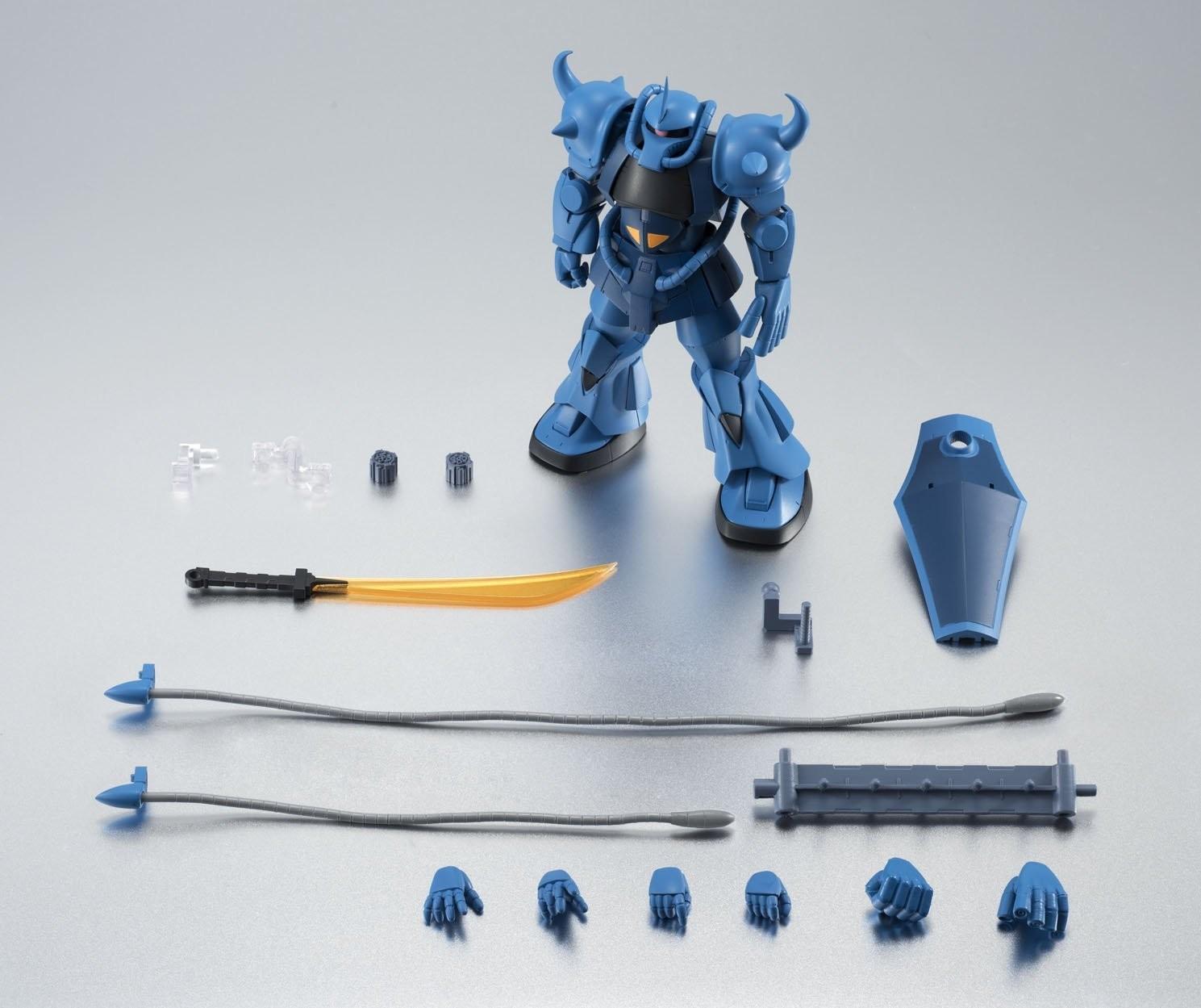 ROBOT SPIRITS SIDE MS MS-07B GOUF Ver A.N.I.M.E Action Figure BANDAI NEW Japan