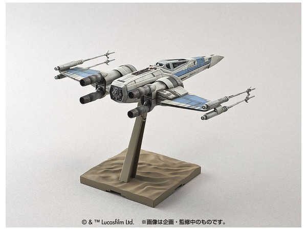 BANDAI Star Wars Plastic Model Kit 1/72 Resistance X-wing Fighter trackable  shipping japan NEW