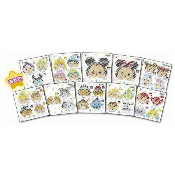 Aqua beads Disney Tsum Tsum illustrations sheet set JP
