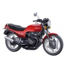 Aoshima 1/12 The Motorbike No.48 Honda NC07 CBX400F Montsa Red '81 Plastic Model w/Custom Parts  trackable shipping, AOS62326, by AOSHIMA