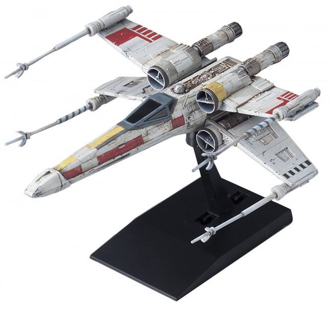 BANDAI Star Wars Vehicle Model X-Wing Star Fighter trackable shipping japan  NEW